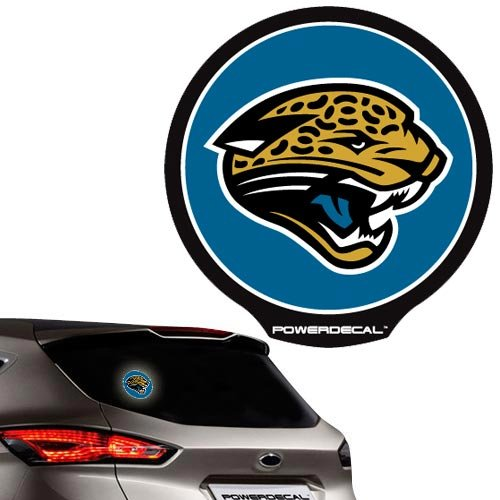 Rico Jacksonville Jaguars Power Decal Two Logo Combo Pack - NFLSHOP EXCLUSIVE!