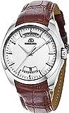 BINKADA Fashion Automatic Mechanical White Dial His Men's Watch #7033M02-1
