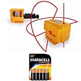 Pacific Laser Systems PLS 4 Red System With 10 Pack Duracell AA Batteries