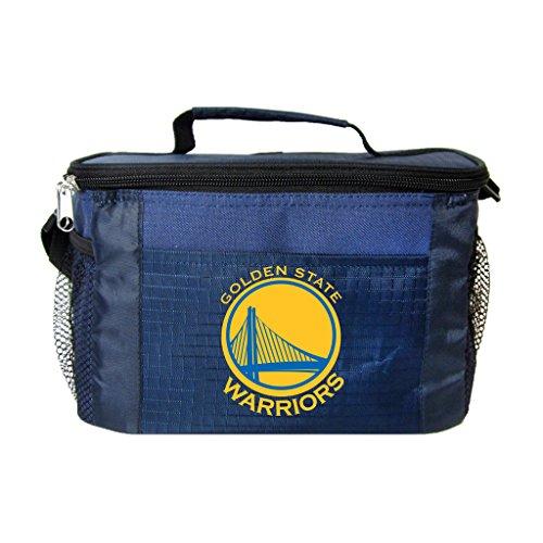 NBA Golden State Warriors 6 Can Cooler Bag, One Size, Blue by Kolder