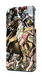 S0693 Mayan Warrior Case Cover for IPHONE 5C