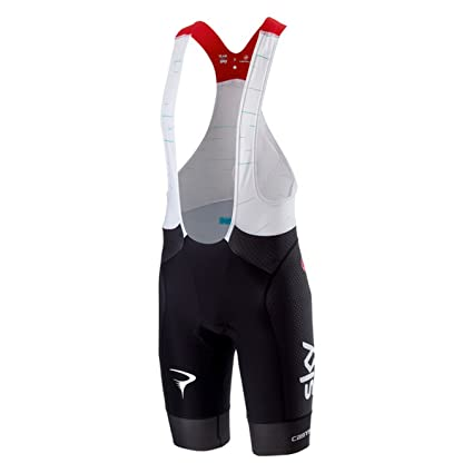 e7e0cd4b5 Amazon.com  Castelli Team Sky Free Aero Race Bib Short - Men s Black ...
