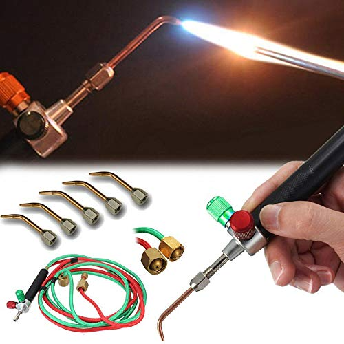 Euone  Gas Torch Clearance , Mini Jewelry Gas Welding Mirco Torch Jewelers Soldering Brazing Cutting Tools ()