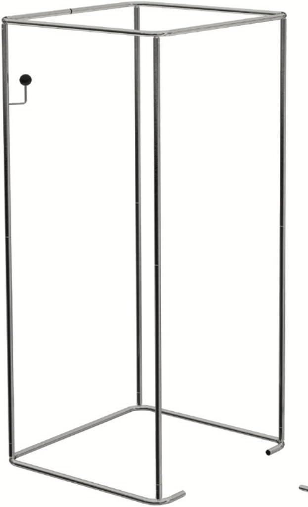 Estructura Tubo portatende Camerini vestuario autoportante de 200 cm: Amazon.es: Hogar