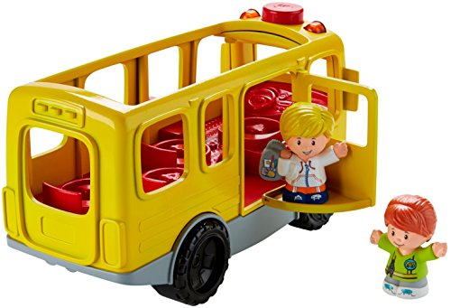 515w EcwajL - Fisher-Price Little People Sit with Me School Bus Vehicle