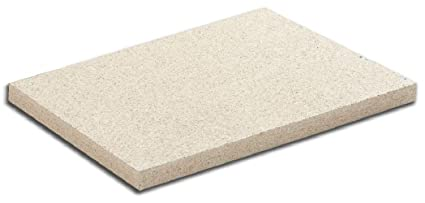 Placa vermiculita 50 x 31 x 2,5 cm. Densidad 600 Kg/M3