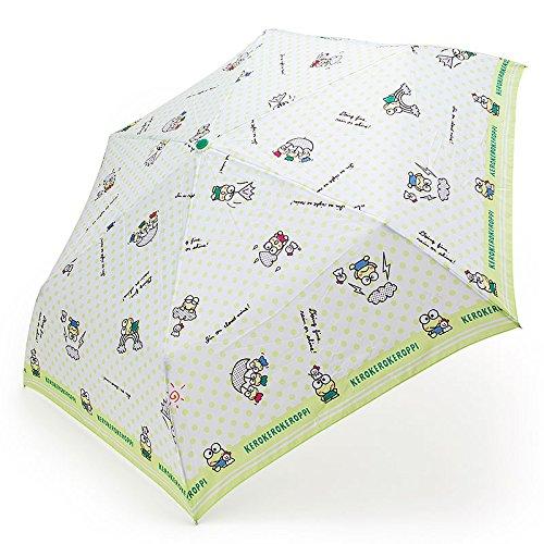 けろけろけろっぴ 折りたたみ傘(お天気げんき) B071ZH8T3Z