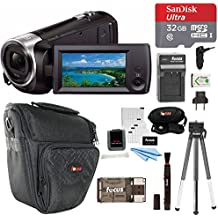 Sony HDR-CX405/B Handycam HD Camcorder w/32GB Deluxe Accessory Kit