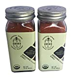 Spice Monger Organic Chili Powder 1.4OZ (Pack of 2) USDA Certified, All Naturals fresh from Malabar coast, Kosher certified