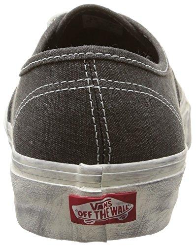 black Baskets overwashed Mixte Gris U Adulte Vans Overwashed Authentic Basses wznvS