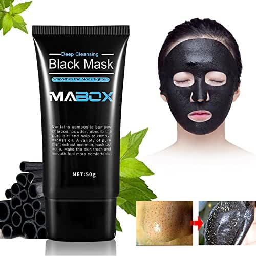 Blackhead Peel Off Mask, Blackhead Remover Mask, Purifying Peel-off Mask Oxygen Beauty Mask Black Mud Pore Removal Strip Mask For Face Nose Acne Treatment Oil Control(50g)