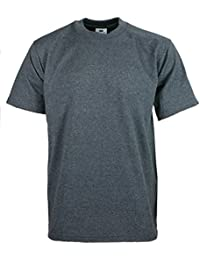Men's proclub Heavy Weight solid crewneck short sleeve shirts