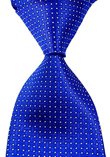 ext-collectino-100-silk-necktie-new-classic-patterned-blue-white-dot-tie-jacquard-woven-mens-suits-t