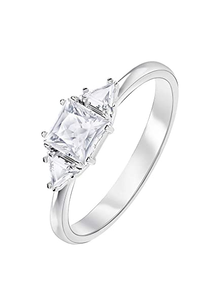 8665b479f Swarovski Attract Trilogy Crystal Ring 5412031-50: Amazon.co.uk: Jewellery