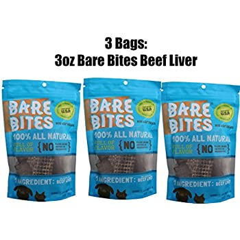 Amazon.com: Bare Bites 100% All Natural Dried Beef Liver