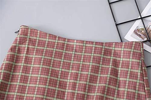 Jupe Photo Jupe Rtro LLS Color Femmes Jupe Basique Midi Courte 1tx6qS