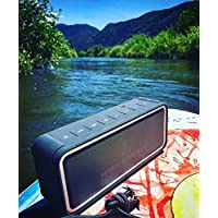 High Society JakeBox Wireless Speaker, IP67 Water & Dust Proof, USB charging port, Built in Mic, SD card slot