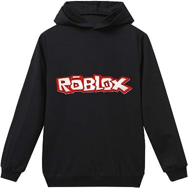Bgdgjrkjk Roblox Felpe Bambini Casual Jumper Felpa con Cappuccio Ragazze Manica Lunga Sport Pullover con Pocket Roblox Cappotti