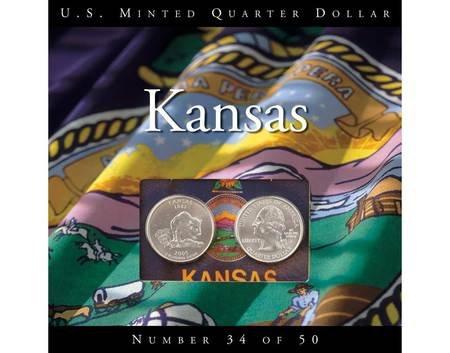 2005 Kansas State Quarters P and D Uncirculated (2005 Kansas State Quarter)