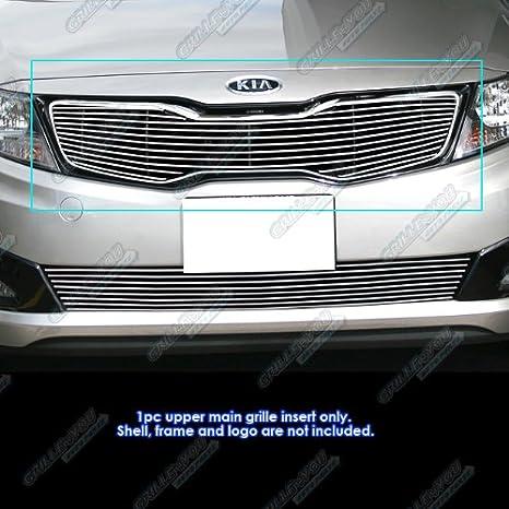 Amazon.com: APS K66902A Polished Grille Bolt Over for select Kia Optima Models: Automotive