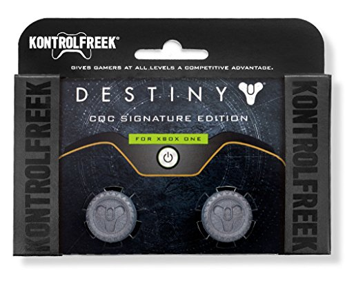 KontrolFreek Destiny CQC Signature Edition for Xbox One Controller | Performance Thumbsticks | 2 Low-Rise | Gray