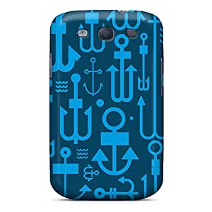 YUHhXmB104QBYte Tpu Phone Case With Fashionable Look For Galaxy S3 - Anchors
