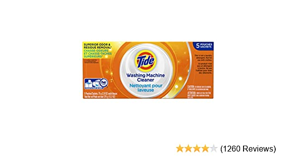 Tide Washing Machine Cleaner 5 Count