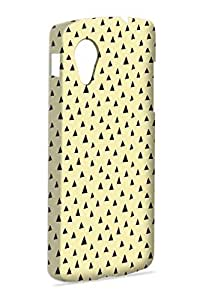 Case Fun Case Fun Lemon Spike by Finch Five Snap-on Hard Back Case Cover for Google Nexus 5