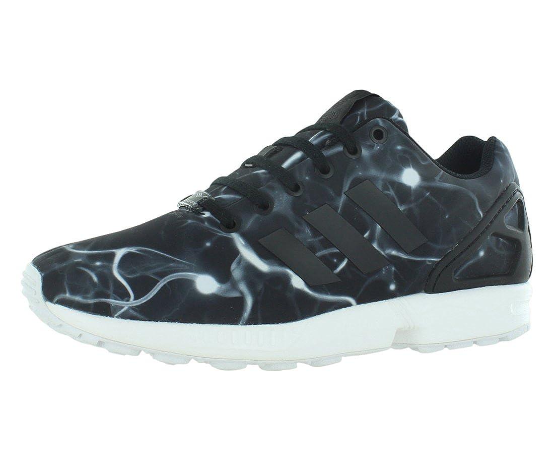 adidas zx flux black white