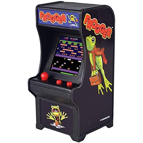 Super Impulse Frogger Miniature Arcade Game Cabinet - Sound & Plays Like Original Ages 8+