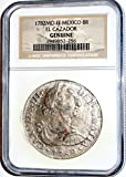 1782 MX 8 Reales MO FF El Cazador Shipwreck Coin,With Story Card,NGC Certified 1949852256 Real Genuine NGC