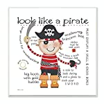 Stupell Decor Look Like a Pirate Wall Plaque Art