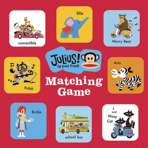 Julius! Matching Game ebook