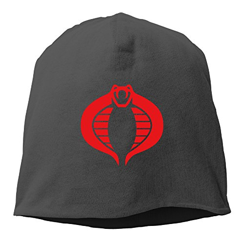 Mens Gi Joe Cobra Logo Fleece Beanie (Crazy Fleece Hats)