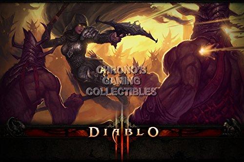 Diablo CGC Huge Poster Glossy Finish III PS3 PS4 Xbox 360 ONE - Class Demon Hunter - DIA014 (24
