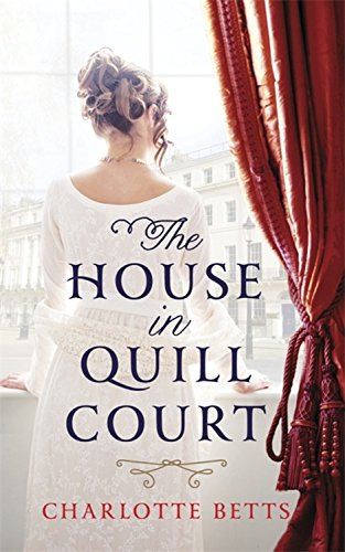 book cover of The House in Quill Court