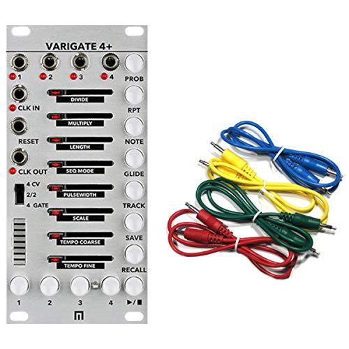 Malekko Varigate 4+ 12 HP 4 Channel 8-Step Gate Sequencer Eurorack Module 4 Plus
