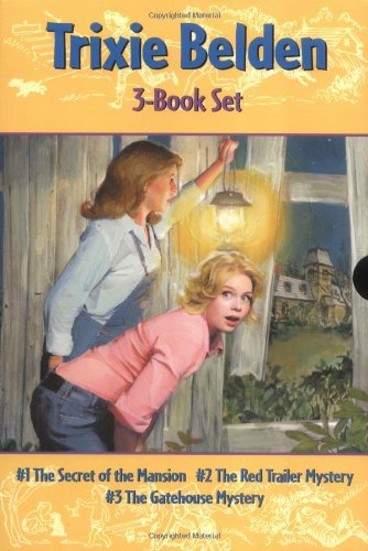 Read Online The Secret of the Mansion / The Red Trailer Mystery / The Gatehouse Mystery (Trixie Belden) PDF