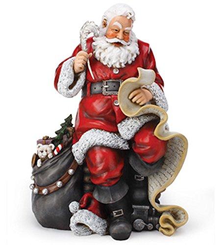 Napco Santa with List Figurine