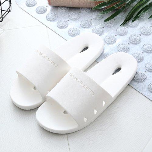 slip Il pantofole soggiorno una coppie in DogHaccd di home giapponese estate bagno Bianco1 pantofole donna piscina bagno acqua pantofole fredda con qPn5zd