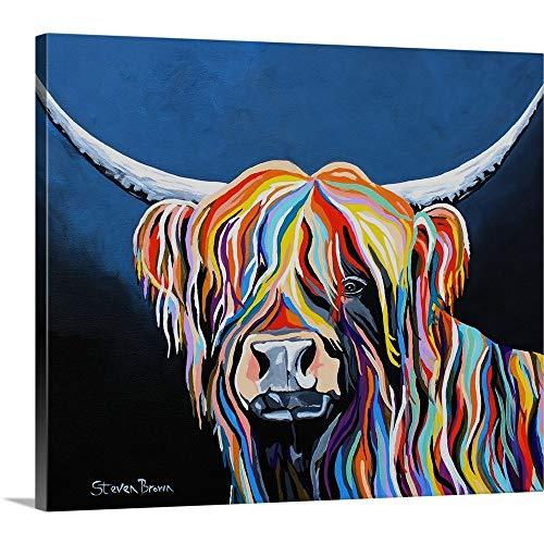 Steven Brown Premium Thick-Wrap Canvas Wall Art Print Entitled Harris McCoo 24