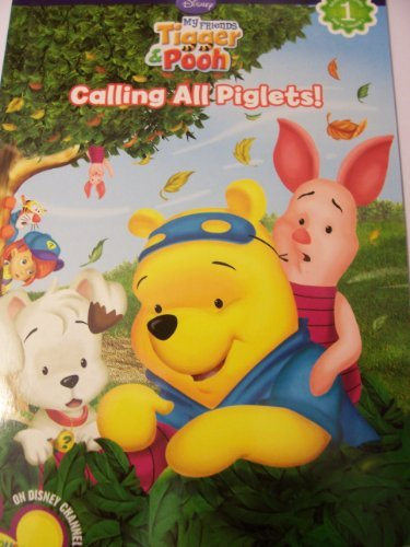 Dalmatian Press Reading Discovery Level 1 Reader ~ Disney My Friends Tigger & Pooh (Calling All Piglets) -