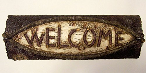 abc-products-heavy-resin-plastic-wood-like-sign-shaped-like-half-log-with-the-word-welcome-letters-s