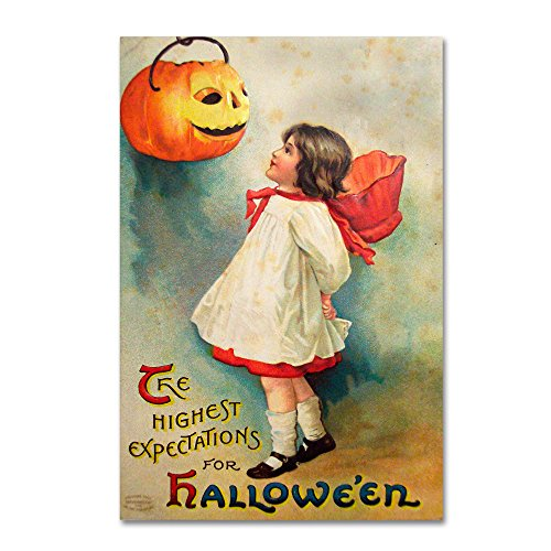 Halloween Expectations by Vintage Apple Collection, 30x47-Inch