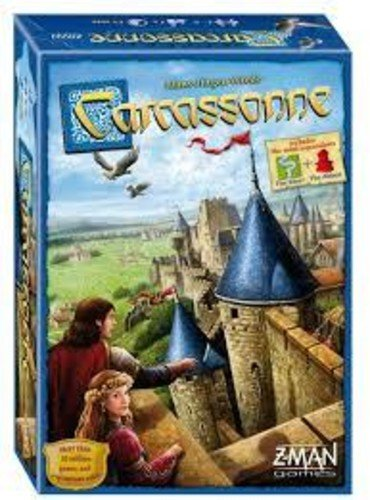 ZMan Games - Carcassonne Board Game