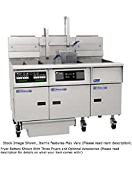 Pitco SE14RS 3FD Solstice Prepackaged Electric Fryer System W Solstice Solo Filter System 3 40 50 Oil Capacity Fryers 66 KW