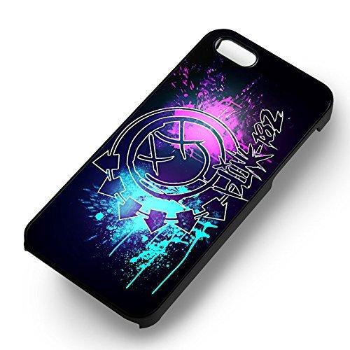 Blink 182 Logo pour Coque Iphone 6 et Coque Iphone 6s Case (Noir Boîtier en plastique dur) V1B1VM
