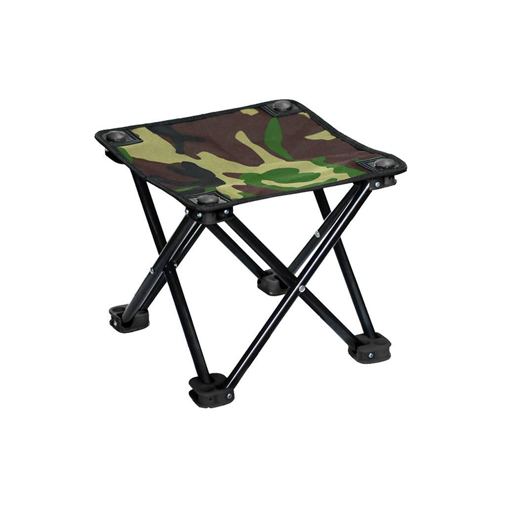 D 262624cm Chaise de camping La Pliante Peut Supporter 70 kg, Chaise légère de Plage, adaptée à la randonnée, à la pêche, au Pique-Nique, etc.