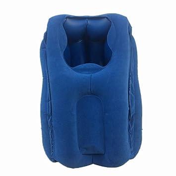 Amazon.com: Cojín hinchable de PVC para el cuello, almohada ...