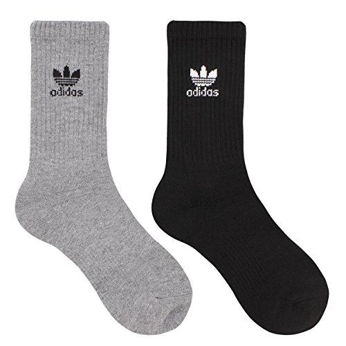 Adidas Youth Originals Trefoil 6-Pack Crew Socks